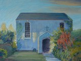 Chapel, Caerleon - acrylic - private collection