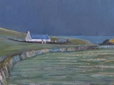 Mwnt, Ceredigion - acrylic - private collection