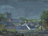 Tregaron, Ceredigion - acrylic - private collection